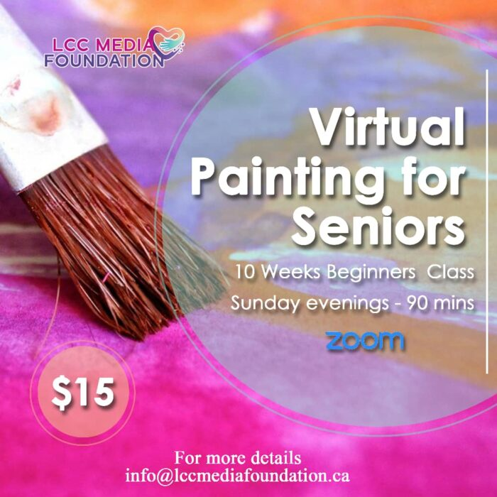 Virtual Painting Session For Seniors
